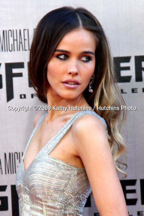 "Isabel Lucas arriving at the ""Transformers: Revenge of the Fallen"" Premiere at the Mann's Village Theater in Westwood, CA  on June 22, 2009.  .©2009 Kathy Hutchins / Hutchins Photo"