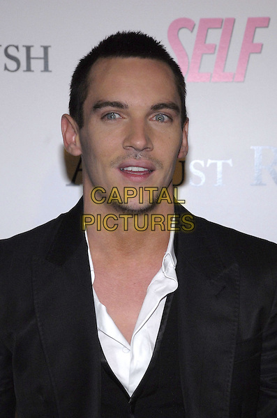"JONATHAN RHYS MEYERS .The New York premiere of Warne Bros. Pictures' ""August Rush"" held at  the Ziegfeld Theater, New York, New York, USA..November 11th, 2007.headshot portrait myers stubble facial hair .CAP/ADM/BL.©Bill Lyons/AdMedia/Capital Pictures. *** Local Caption ***"