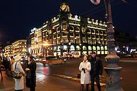 San Pietroburgo: la Nevsky Prospekt di sera