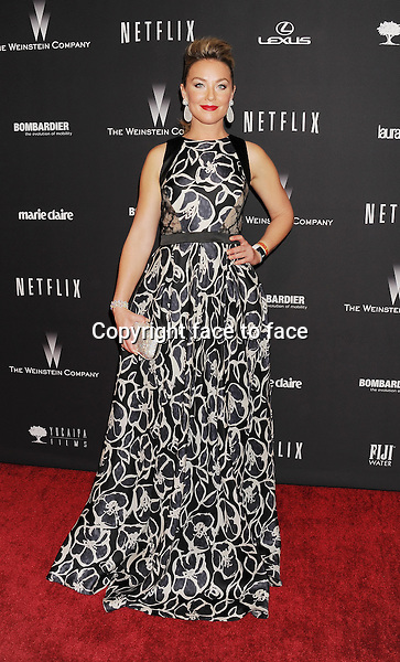 BEVERLY HILLS, CA- JANUARY 12: Actress Elisabeth Roehm attends The Weinstein Company &amp; Netflix 2014 Golden Globes After Party held at The Beverly Hilton Hotel on January 12, 2014 in Beverly Hills, California.<br />