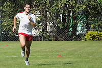 SÃO PAULO, SP, 04.08.2015 - FUTEBOL-SÃO PAULO - Alexandre Pato   durante treino do São Paulo Futebol  no Centro de Treinamento da Barra Funda, na manhã desta terça-feira (04). (Foto: Adriana Spaca/Brazil Photo Press)