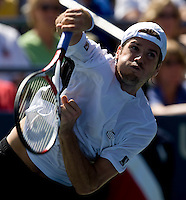 Tommy Haas (GER) (20) against Robert Kendrick (USA) in the second round. Haas beat Kendrick 6-4 6-4 7-6..International Tennis - US Open - Day 3 Wed 02 Sep 2009 - USTA Billie Jean King National Tennis Center - Flushing - New York - USA ..© Frey, Advantage Media Network, Level 1, Barry House, 20-22 Worple Road, London, SW19 4DH +44 208 947 0100..