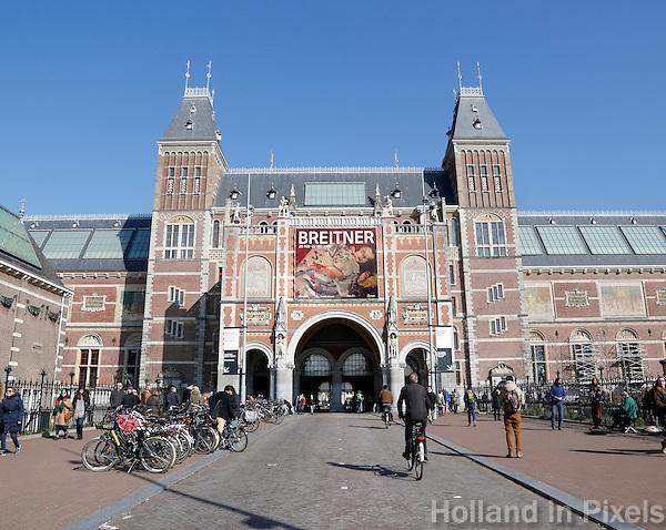 Nederland Amsterdam 2016 03 13. Het Rijksmuseum. Foto Berlinda van Dam / Hollandse Hoogte
