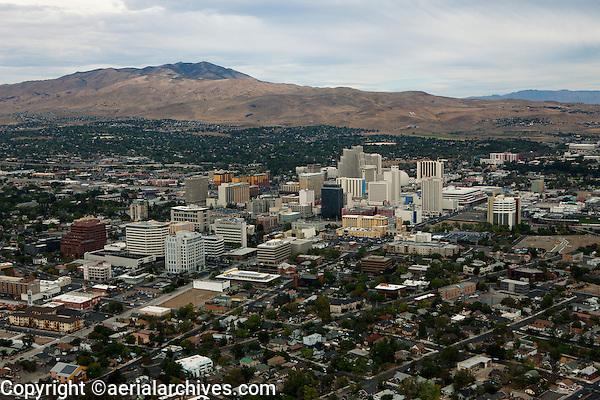 aerial photograph Reno, Nevada