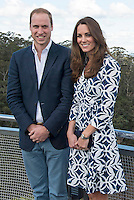 Kate, Duchess of Cambridge & Prince William visit the Blue Mountains - Australia