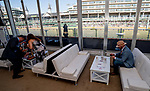 November 3, 2018 : The view from the Breeders' Cup Lounge on Breeders Cup World Championships Saturday at Churchill Downs on November 3, 2018 in Louisville, Kentucky. Scott Serio/Eclipse Sportswire/CSM