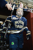 Peter Schneider (ND - 15) The visiting University of Notre Dame Fighting Irish defeated the Boston College Eagles 7-2 on Friday, March 14, 2014, in the first game of their Hockey East quarterfinals matchup at Kelley Rink in Conte Forum in Chestnut Hill, Massachusetts.