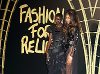 London Fashion Week s/s 2020 Naomi Campbell's Fashion For Relief Red Carpet Arrivals at the British Museum, London on September 14th 2019<br /> <br /> Photo by Keith Mayhew