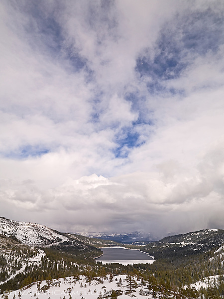 Donner Lake in Winter