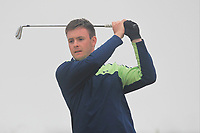 James Maginn (Mourne) on the 1st tee during Round 1 - Matchplay of the North of Ireland Championship at Royal Portrush Golf Club, Portrush, Co. Antrim on Wednesday 11th July 2018.<br /> Picture:  Thos Caffrey / Golffile