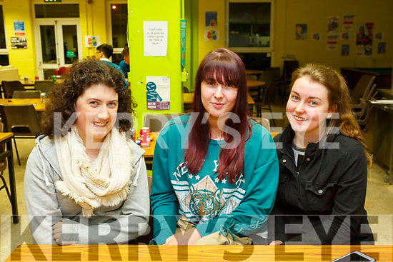 KERRY SCIENCE: Students from Presentation Listowel who participated in the Senior science quiz at Tralee IT on Thursday evening pictured here are Front l-r Marie Kennelly, Megan Canty and Kelly Scanlon