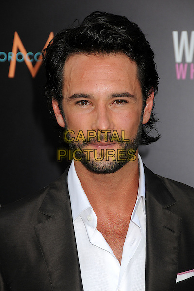 "Rodrigo Santoro.""What To Expect When You're Expecting"" Los Angeles Premiere held at Grauman's Chinese Theatre, Hollywood, California, USA.  .May 14th, 2012.headshot portrait black suit white shirt beard facial hair .CAP/ADM/BP.©Byron Purvis/AdMedia/Capital Pictures."
