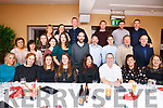Staff from Cloaiste Gleann Li, Tralí enjoying their Xmas party in Benner's Hotel, Tralee on Friday night last.
