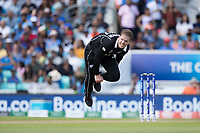 Lockie Ferguson (New Zealand) in action during India vs New Zealand, ICC World Cup Warm-Up Match Cricket at the Kia Oval on 25th May 2019