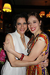 Opening Night of Manipulation and after party at Sardis - Saundra Santiago poses with Marina Squerciati (plays her daughter in play on June 28, 2011 at the Cherry Lane Theatre, New York City, New York. (Photo by Sue Coflin/Max Photos)