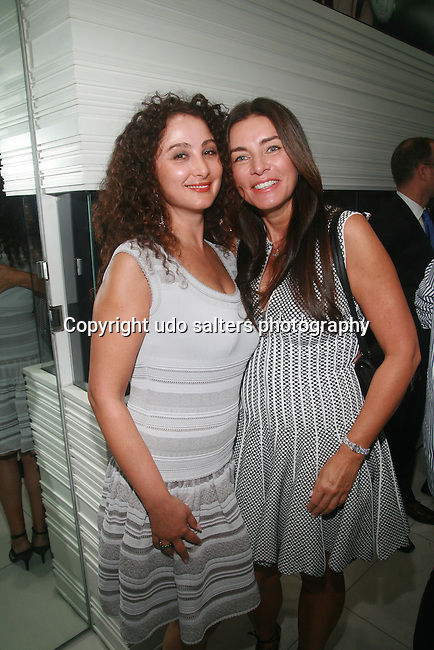 Angela Arabo and Olga Kroucoi  Attend The Palladium Jewelry By Jacob & Co. Launch Celebration hosted by W Magazine held At Jacob & Co. Flagship Store, NY   9/13/12