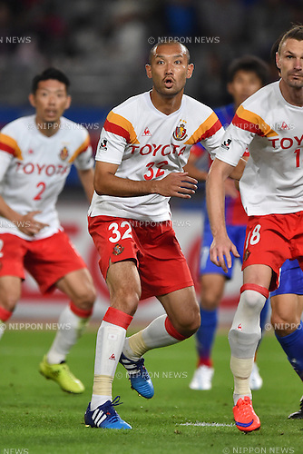 Kengo Kawamata (Grampus), MAY 23, 2015 - Football / Soccer : 2015 J1 League 1st stage match between F.C.Tokyo 0-1 Nagoya Grampus at Ajinomoto Stadium in Tokyo, Japan. (Photo by AFLO)
