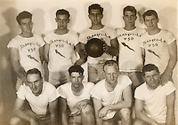 U.S.S. Shangri-La V50 basketball team-<br />