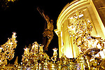 Cofradia del Cachorro de la Iglesia del Patrocinio del barrio de Triana. Semana Santa. Pasos. Procesiones..Sevilla, Andalucia, Espana.