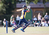 Ravi Bopara of Essex hits a four through the offside during Upminster CC vs Essex CCC, Benefit Match Cricket at Upminster Park on 8th September 2019