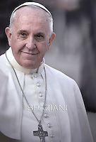 Pope Francis canonization mass iin St Peter's square at the Vatican on November 23, 2014
