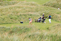 Alex Gleeson (Castle) on the 11th tee during Round 3 of The South of Ireland in Lahinch Golf Club on Monday 28th July 2014.<br /> Picture:  Thos Caffrey / www.golffile.ie