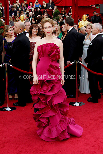 WWW.ACEPIXS.COM . . . . .  ....March 7 2010, Hollywood, CA....Actress Vera Farmiga at the 82nd Annual Academy Awards held at Kodak Theatre on March 7, 2010 in Hollywood, California.....Please byline: Z10-ACE PICTURES... . . . .  ....Ace Pictures, Inc:  ..Tel: (212) 243-8787..e-mail: info@acepixs.com..web: http://www.acepixs.com