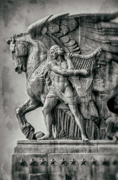 Memorial Bridge Statues Washington DC<br /> &quot;The Arts of Peace&quot;