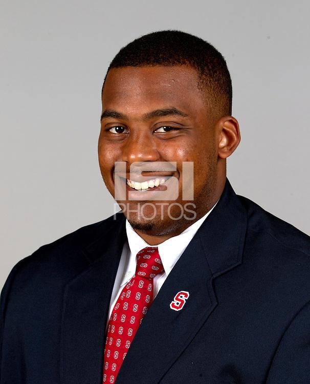 Khalil Wilkes, a member of Stanford University Football team. Photo taken on  Wednesday June 26, 2013.
