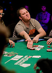 Scott Seiver slides his bounty chip over in Ronnie Barduh's direction.