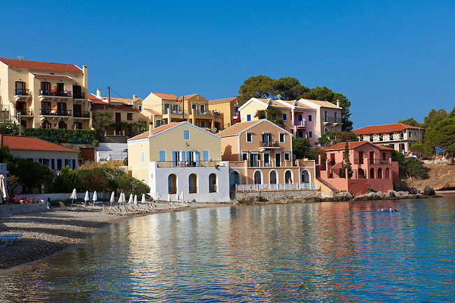 Assos Bay , Kefalonia; Greek Ionian Islands