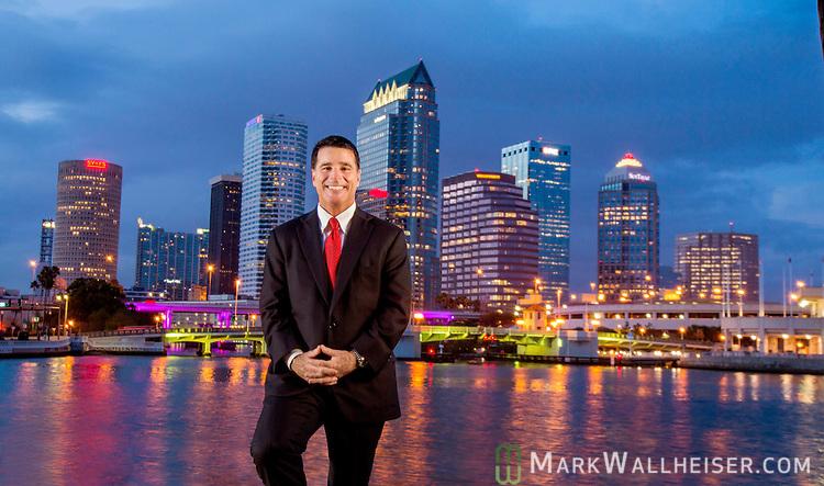 Florida attorney Bill Schifinio in Tampa, Florida  March 24, 2016.