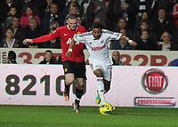 2011 11 19 Premiership, Swansea City V Manchester United, Liberty Stadium, Swansea, South Wales, UK.