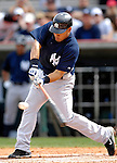 16 March 2007: New York Yankees outfielder Melky Cabrera in action against the Houston Astros at Osceola County Stadium in Kissimmee, Florida...Mandatory Photo Credit: Ed Wolfstein Photo