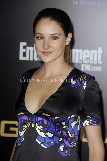 WWW.ACEPIXS.COM . . . . .  ....March 12 2012, LA....Actress Shailene Woodley arriving at the premiere of 'The Hunger Games' at Nokia Theatre L.A. Live on March 12, 2012 in Los Angeles, California.....Please byline: PETER WEST - ACE PICTURES.... *** ***..Ace Pictures, Inc:  ..Philip Vaughan (212) 243-8787 or (646) 769 0430..e-mail: info@acepixs.com..web: http://www.acepixs.com