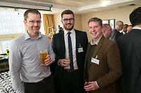 From left are Ben Sarton of SLR Consulting, Adam Kingswood of Kingswood Residential, Richard Wilson of DB Woodand