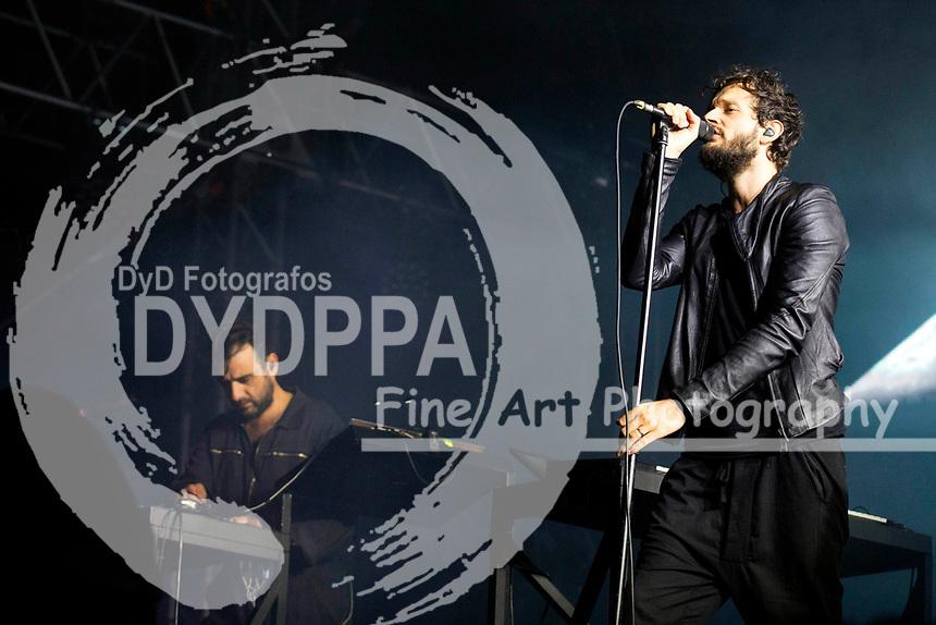 Moderat live auf dem MS Dockville Festival 2017 am Reiherstieg Hauptdeich. Hamburg, 19.08.2017