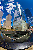 USA-New York City-National September 11 Memorial & Museum-Exterior