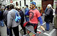 Milano, Sciopero Generale. Manifestazione sindacati confederali. <br /> Milan, Labour Union demonstration.