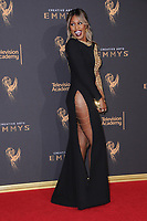 10 September  2017 - Los Angeles, California - Laverne Cox. 2017 Creative Arts Emmys - Arrivals held at Microsoft Theatre L.A. Live in Los Angeles. <br /> CAP/ADM/BT<br /> &copy;BT/ADM/Capital Pictures