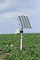 Monitoring soil moisture defecit
