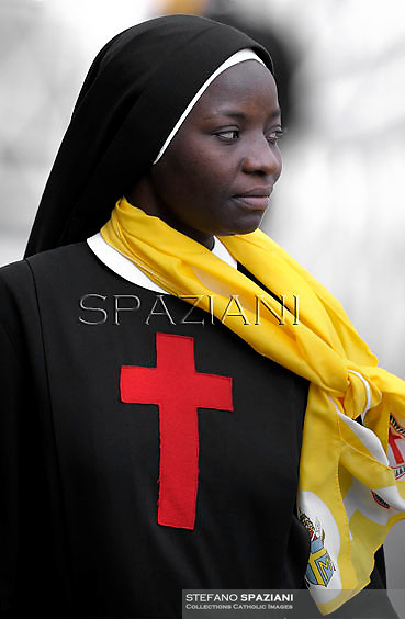 Sister;  Nun;Pope Benedict XVI during his weekly general audience in St. Peter square at the Vatican, Wednesday. 17 October, 2012
