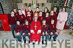 Confirmation class from Kilmoyley NS who made their confirmation on Tuesday in St Brendan's Church,Ardfert, by the Bishop of Kerry Ray Browne with principal Áine Crowe and PP Fr. Fr Liam Comer