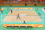 Rie Urata (JPN),<br /> SEPTEMBER 14, 2016 - Goalball : <br /> Quater-Final <br /> match between Japan - China<br /> at Future Arena<br /> during the Rio 2016 Paralympic Games in Rio de Janeiro, Brazil.<br /> (Photo by Shingo Ito/AFLO)
