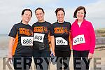Berni O Loughlin, Ann Ó Fúaráin,Moira O'Sullivan and joan Casey from Ballyheigue at the Ballyheigue 10k run or half marathon on Saturday