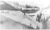 D&amp;RGW #417 double-heading to Windy Point &amp; Cumbres Pass.<br /> D&amp;RGW  Coxo - Cumbres, NM