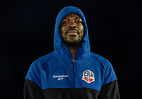 Bolton Wanderers' Aristote Nsiala pictured before the match <br /> <br /> Photographer Andrew Kearns/CameraSport<br /> <br /> The Premier League - Leicester City v Aston Villa - Monday 9th March 2020 - King Power Stadium - Leicester<br /> <br /> World Copyright © 2020 CameraSport. All rights reserved. 43 Linden Ave. Countesthorpe. Leicester. England. LE8 5PG - Tel: +44 (0) 116 277 4147 - admin@camerasport.com - www.camerasport.com
