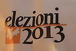 28/10/2013 Trento, Italia Elezioni provinciali - Provincia Autonoma di Trento<br /> <br /> Nella foto Ugo Angelo Giovanni Rossi (PATT)<br /> <br /> &copy; Pierre Teyssot