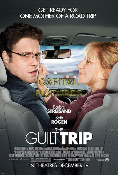 POSTER ART.in The Guilt Trip (2012) .*Filmstill - Editorial Use Only*.CAP/FB.Supplied by Capital Pictures.