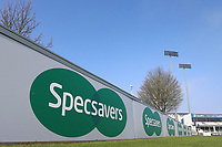 Specsavers signage during Essex CCC vs Lancashire CCC, Specsavers County Championship Division 1 Cricket at The Cloudfm County Ground on 8th April 2017